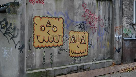 德国墙面涂鸦图片