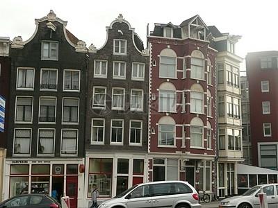 阿姆斯特丹的歪房子图片