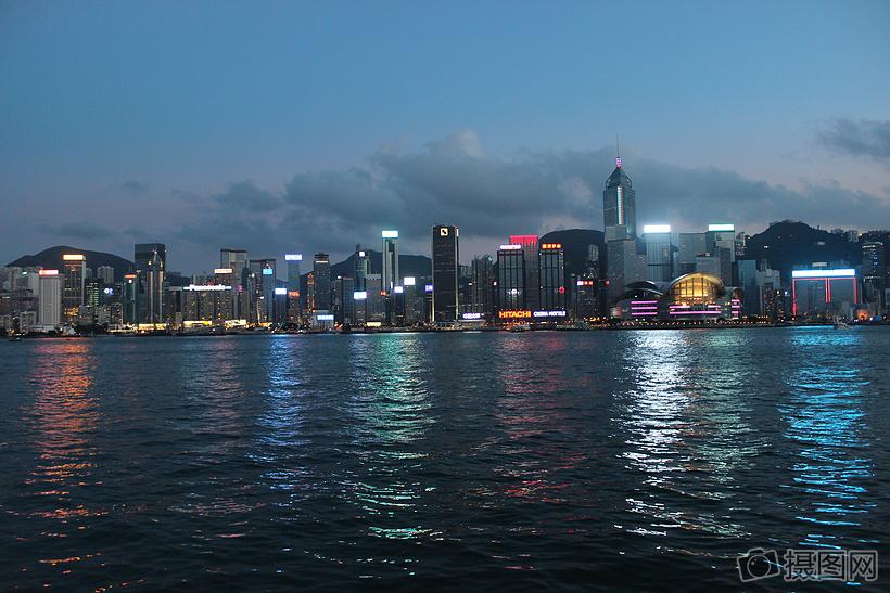 香港风景 gif