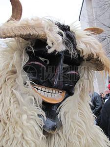 恐怖的装饰面具图片