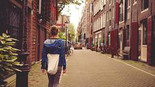 阿姆斯特丹的街道图片
