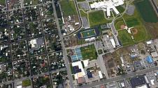 俯视下的城市图片