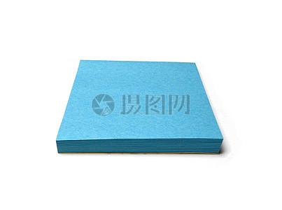 一叠蓝色选项卡图片