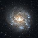 夜空星云图图片