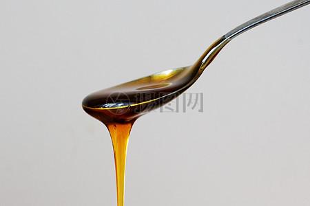 一勺流动的蜂蜜图片