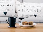 营养早餐松饼咖啡图片