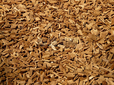 杂乱无章的木屑图片