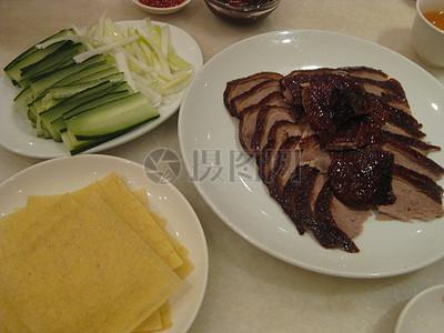 美味的北京烤鸭图片