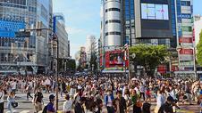 繁华的商业街图片