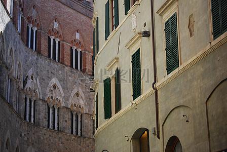 托斯卡纳的建筑物图片