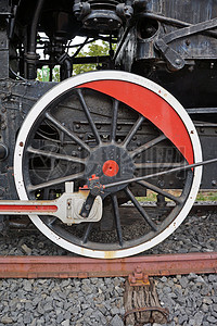 正在运转的蒸汽引擎图片