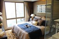 宁静的卧室一角图片
