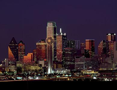 宏伟高大的建筑群图片