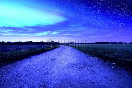 繁星满天与晴空万里图片