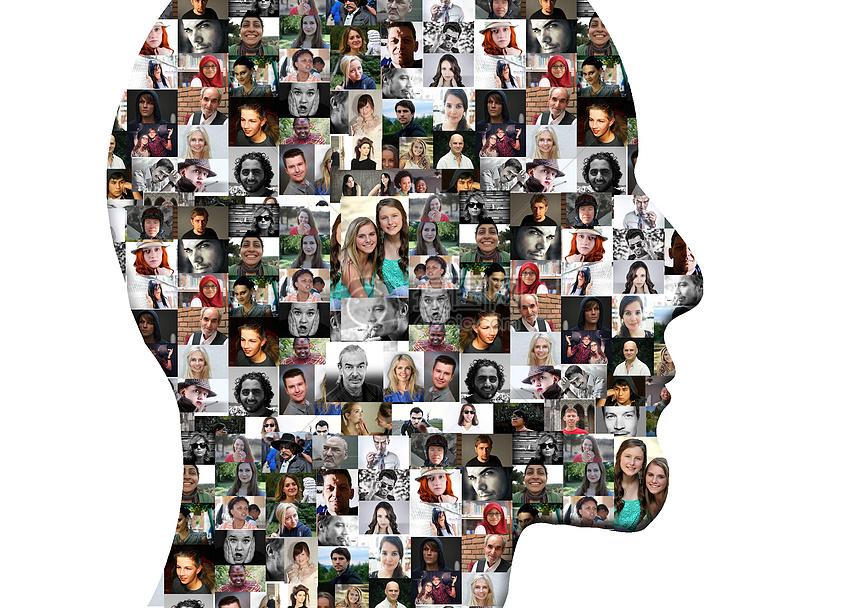 个人的社交社群网络图片