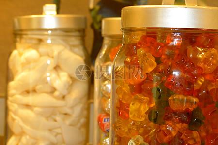 五彩的水果糖图片