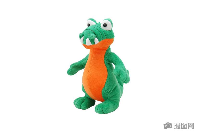 可爱的鳄鱼玩具图片