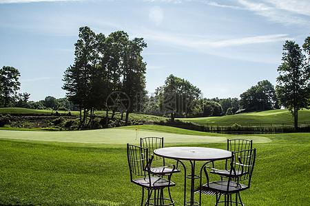 现代化高尔夫球场图片