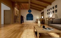 简洁大方的房间图片