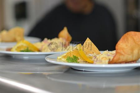 餐厅自助油煎食品图片