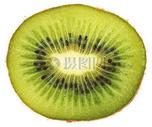 绿色猕猴桃切片图片