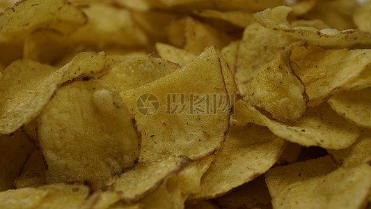 油煎马铃薯片图片