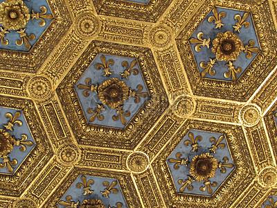 金色的天花板图片