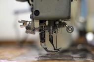 缝纫机的工作图片