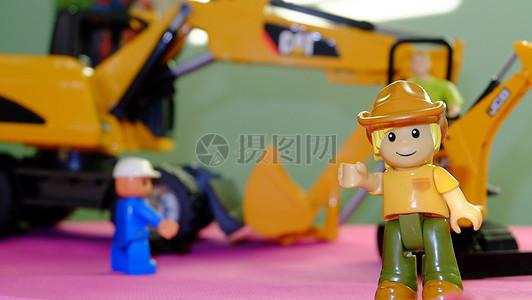 玩具车玩具人摆件图片