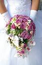 新娘手中的手捧花图片