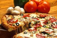 西式料理披萨图片