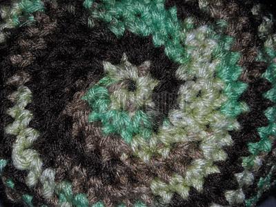 彩色的钩针编织图片