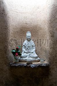 观世音菩萨塑像图片