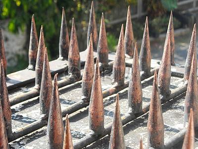 铁铸防护栅栏图片