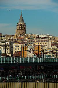 蓝天下的伊斯坦堡图片