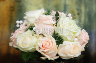 婚礼玫瑰花束图片