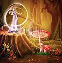 森林童话设计图片图片