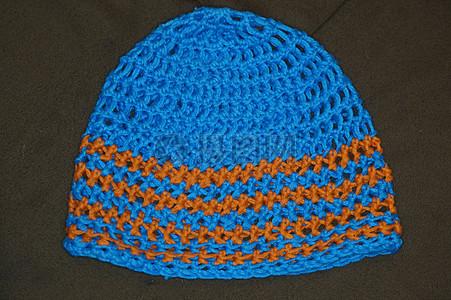 钩针编织帽子图片