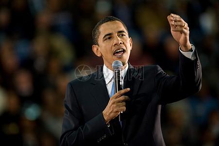 奥巴马在激情演讲图片图片