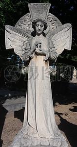 慈祥的圣母塑像图片