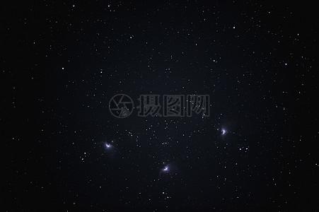 群星闪耀的璀璨星空图片