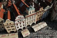 小镇的俯视图片