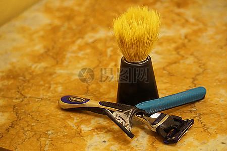 剃须刀和刷子图片