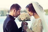 爱情长跑终点的婚礼图片