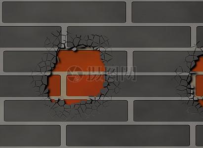 脱落的灰色墙壁图片