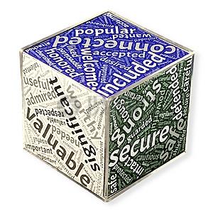 英文立方体图片