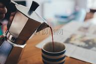冲泡的咖啡图片