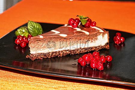 水果味芝士蛋糕图片