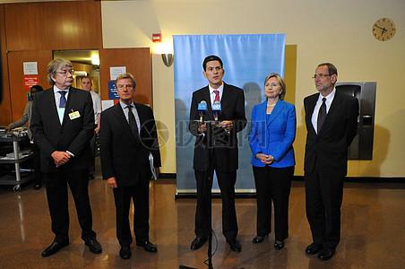 2009年联合国大会:缅甸部长级友图片