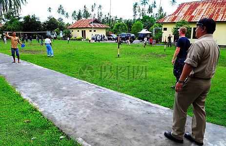 士官长烹饪专家(SW / AW)杰克芳播放接球的印尼男孩图片